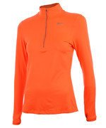 bluza do biegania damska NIKE ELEMENT HALF ZIP / 685910-877
