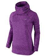 bluza do biegania damska NIKE ELEMENT HOODY / 685818-556