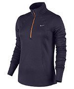 bluza do biegania damska NIKE RACER LONG SLEEVE 1/2 ZIP TOP / 648358-524