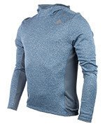 bluza do biegania męska ADIDAS RESPONSE HOODIE / BK3146