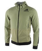 bluza do biegania męska ADIDAS WORKOUT FULL ZIP HOODY / AZ1289