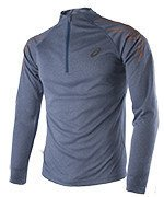bluza do biegania męska ASICS STRIPE LONG SLEEVE 1/2 ZIP / 134102-8151