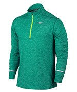 bluza do biegania męska NIKE DRI-FIT ELEMENT HALF ZIP / 683485-351