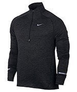 bluza do biegania męska NIKE ELEMENT SPHERE 1/2 ZIP / 683906-011
