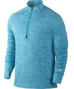 bluza do biegania męska NIKE ELEMENT SPHERE 1/2 ZIP / 683906-408