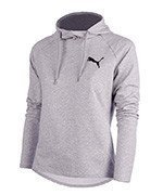 bluza sportowa damska PUMA ACTIVE ESSENTIALS HOODED COVER / 829906-01