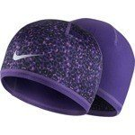 czapka do biegania damska dwustronna NIKE WOMEN'S RUN LOTUS BEANIE / 800690-547