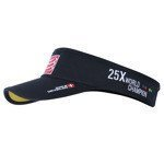 daszek biegowy COMPRESSPORT VISOR CAP BLACK CHINA ORIGIN 25XWORLD CHAMPION / RACS-0025