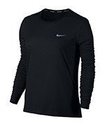koszulka do biegania damska NIKE BREATHE RAPID TOP LONG SLEEVE / 863637-010