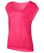 koszulka do biegania damska NIKE BREATHE TOP SHORT SLEEVE COOL / 831784-617