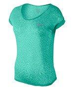 koszulka do biegania damska NIKE DRI-FIT COOL SHORT SLEEVE / 719870-391