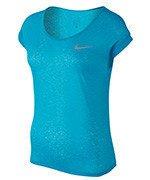 koszulka do biegania damska NIKE DRI-FIT COOL SHORT SLEEVE / 719870-418