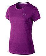koszulka do biegania damska NIKE MILER SHORT SLEEVE / 686911-556
