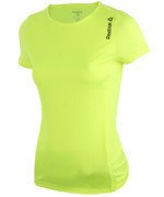 koszulka do biegania damska REEBOK RUNNING ESSENTIALS  SHORT SLEEVE TEE / AJ0436
