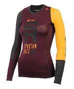 koszulka do biegania damska REEBOK SPARTAN LONG SLEEVE COMPRESSION TEE / B47066