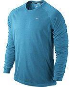 koszulka do biegania męska NIKE MILER LONGSLEEVE UV (TEAM) / 519700-413