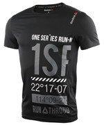 koszulka do biegania męska REEBOK ONE SERIES SHORT SLEEVE TEE 2 / AX9496