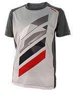 koszulka tenisowa chłopięca HEAD VISION STRIPED CREW SHIRT / 816037 AN