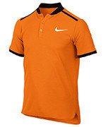 koszulka tenisowa chłopięca NIKE POLO ADVANTAGE SHORT SLEEVE / 832531-867