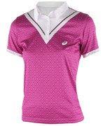 koszulka tenisowa damska ASICS CLUB SHORT SLEEVE POLO / 130253-0183