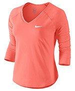 koszulka tenisowa damska NIKE PURE TOP / 728791-890