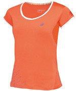 koszulka tenisowa dziewczęca BABOLAT CAP SLEEVES PERFORMANCE / 2GF16031-104