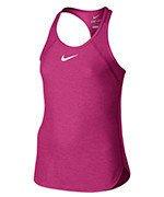 koszulka tenisowa dziewczęca NIKE SLAM TANK / 724715-639