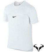 koszulka tenisowa męska NIKE CHALLENGER PREMIER RAFA CREW / 728956-100