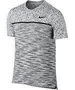 koszulka tenisowa męska NIKE COURT DRY CHALLENGER TOP SHORT SLEEVE / 830907-100