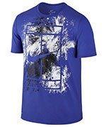 koszulka tenisowa męska NIKE COURT DRY TENNIS TEE / 831490-452