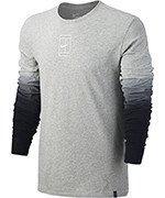 koszulka tenisowa męska NIKE COURT LONG SLEEVE TEE / 848664-063