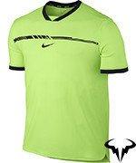koszulka tenisowa męska NIKE RAFA AEROREACT CHALLENGER TOP / 830903-367