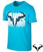 koszulka tenisowa męska NIKE RAFA SHORT SLEEVE CREW TEE / 850860-418