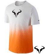 koszulka tenisowa męska NIKE RAFA TEE / 658163-101