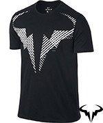 koszulka tenisowa męska NIKE RAFA TEE / 831462-010