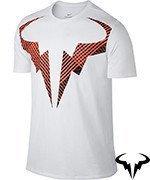 koszulka tenisowa męska NIKE RAFA TEE / 831462-101