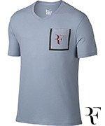 koszulka tenisowa męska NIKE RF STEALTH T-SHIRT / 803882-449