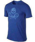 koszulka tenisowa męska NIKE SKULL & RACQUETS TEE 2