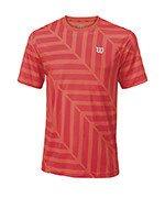 koszulka tenisowa męska WILSON SU LABYRINTH CREW / WRA745701