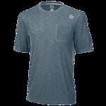 koszulka tenisowa męska WILSON T-SHIRT TEXTURED CREW / WRA731005