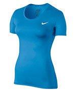 koszulka termoaktywna damska NIKE PRO COOL SHORT SLEEVE / 725745-435