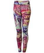 legginsy damskie dwustronne REEBOK COMIC CLASH TIGHT / B45933