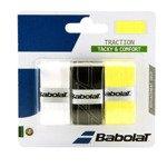 owijka tenisowa BABOLAT X3 TRACTION TACKY&COMFORT / 653043-134
