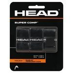 owijki tenisowe HEAD SUPER COMP X3 BLACK / TOH-021
