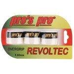 owijki tenisowe PRO'S PRO REVOLTEC GRIP OVERGRIP x3 0,60MM / TOPP-091