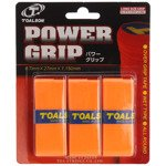 owijki tenisowe TOALSON POWER GRIP x 3 orange