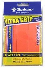 owijki tenisowe TOALSON ULTRA GRIP x 3 orange