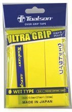 owijki tenisowe TOALSON ULTRA GRIP x3 yellow