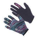 rękawiczki do biegania damskie NIKE PRINTED LIHGTWEIGHT RIVA GLOVES RUN / NRGF1-003