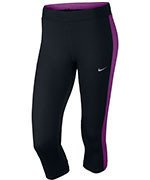 spodnie do biegania damskie 3/4 NIKE DRI-FIT ESSENTIAL CAPRI / 645603-017